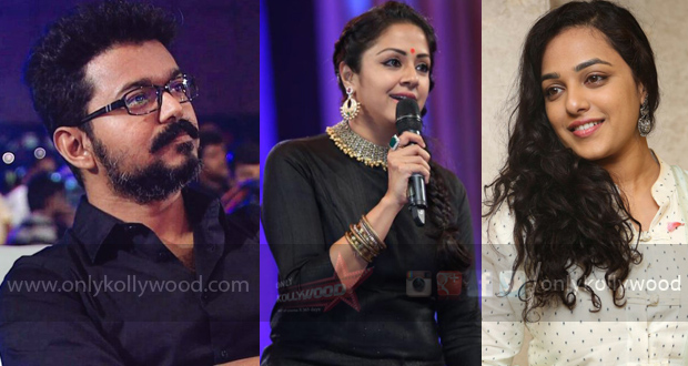 Vijay 61 Nithya Menen reportedly replaces Jyothika!