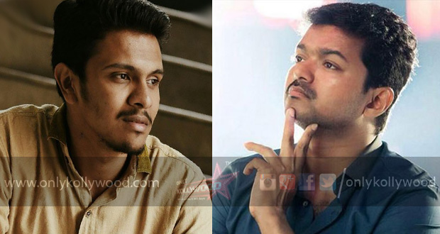 """Photo of """"Really liked the way you treated the emotions,"""" Ilayathalapathy Vijay to D 16 director"""