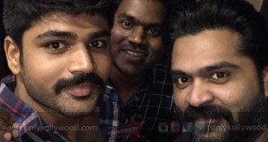 Raja Ranguski - Simbu records a song for Yuvan Shankar Raja