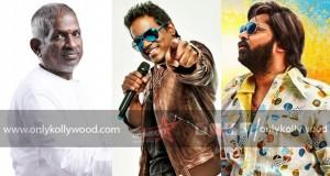 AAA STR Simbu - Ilaiyaraja croons a folk number for Yuvan Shankar Raja