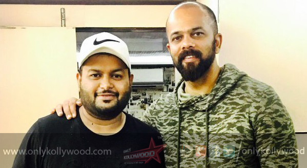 Thaman forays into Bollywood with Rohit Shetty's Golmaal 4