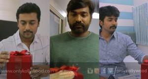 'Gift Song' in Kootathil Oruthan brings Suriya, Sivakarthikeyan & Vijay Sethupathi together