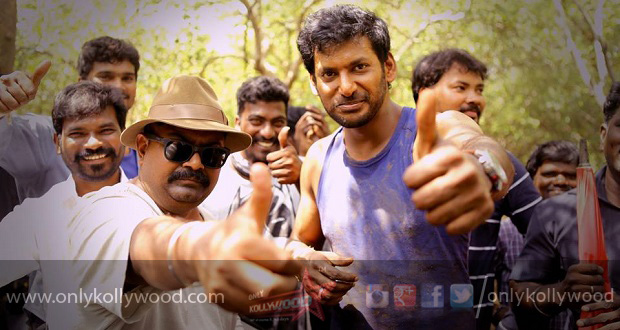 Photo of Spellbinding action sequences in Vishal's Thupparivaalan