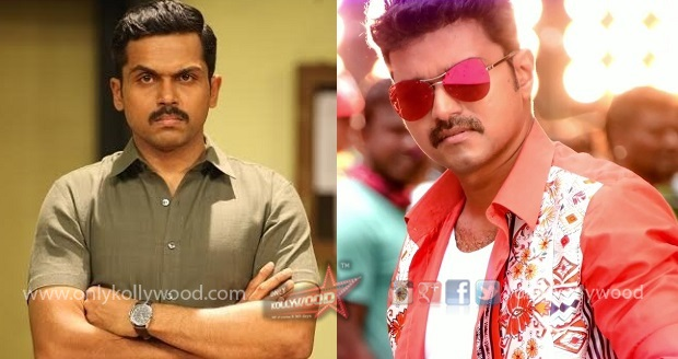 Photo of After 2011, Karthi and Vijay to confront at the box office this Diwali?