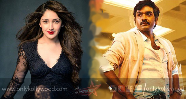 Photo of Extensive Paris schedule planned for Sayyeshaa in Vijay Sethupathi's Junga