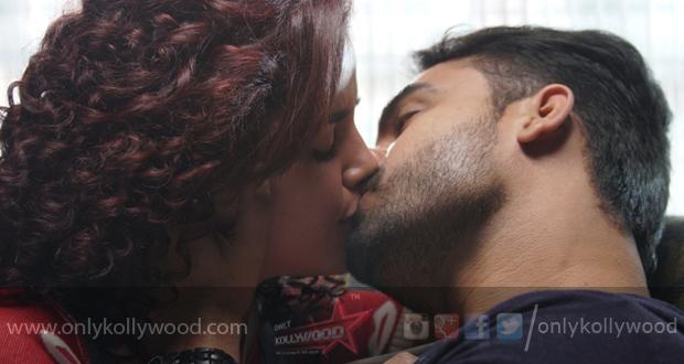 Tovino Thomas and Pia Bajpai's intense lip-lock in Abhiyum Anuvum