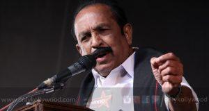Veteran politician Vaiko enters film production through 'Velu Naachiyaar'