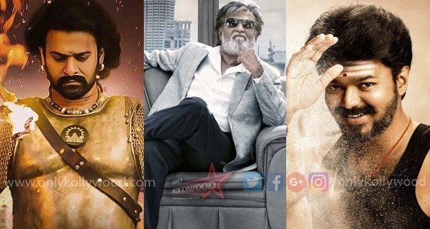 Vijay and Rajinikanth dominate all-time top 5 Chennai city grossers