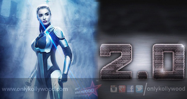 """Photo of """"The outcome of 2.0 will knock ya socks off,"""" says Amy Jackson"""