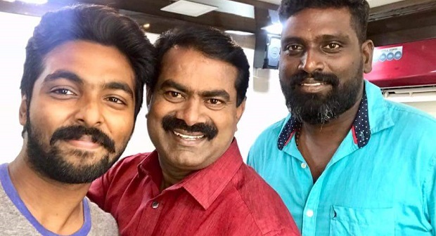 Photo of GV Prakash's Adangathey to have a short cameo by Seeman