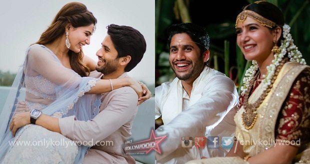 samantha naga chaitanya marriage pics