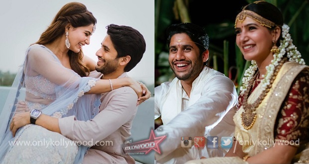 samantha naga chaitanya marriage pics