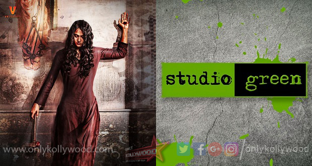 Photo of Bhaagamathie TN rights acquired by Studio Green for a whopping Rs. 15 crores