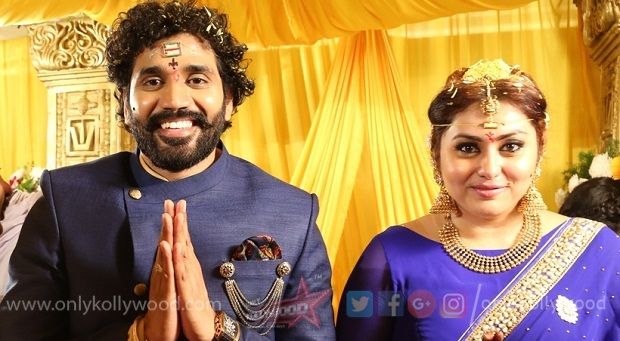 Photo of Namitha Wedding Pictures