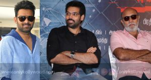 Prabhas highly recommended the Kshanam remake for Sibiraj says Sathyaraj