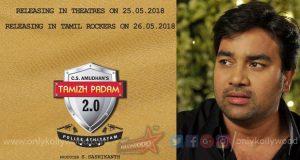 Shiva's Tamizh Padam 2.0 slated to hit screens on May 25th 2018