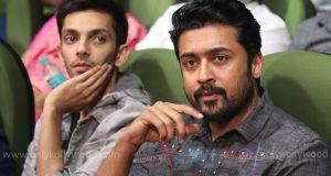Thoroughly enjoyed Suriya's screen presence in the film says Anirudh