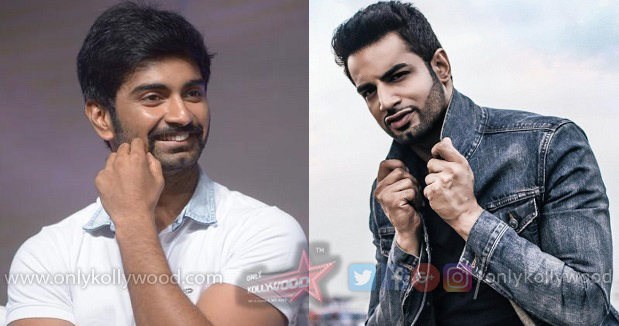 Upen Patel on board Atharvaa - Kannan's next