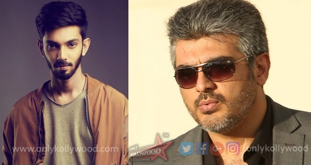 Photo of Anirudh almost confirmed to compose music for Viswasam