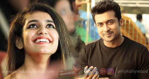 Photo of Suriya 37: Priya Prakash Warrier to star opposite Suriya?