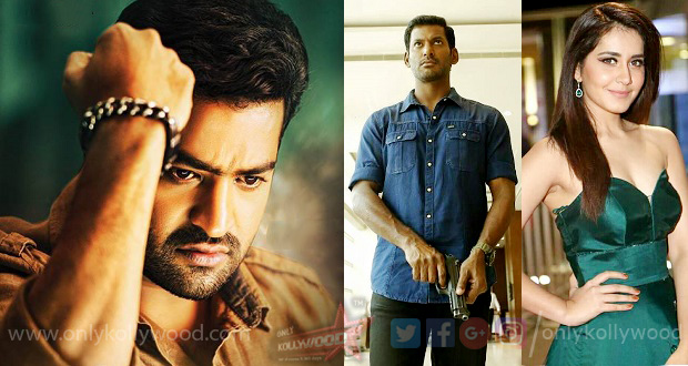Photo of Vishal and Raashi Khanna team up for the Tamil remake of Temper