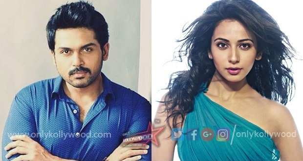 Photo of Karthi, Rakul Preet's adventure rom-com titled Dev?