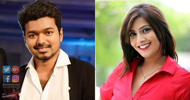 Photo of Varalaxmi Sarathkumar starts shooting with Vijay for Thalapathy 62