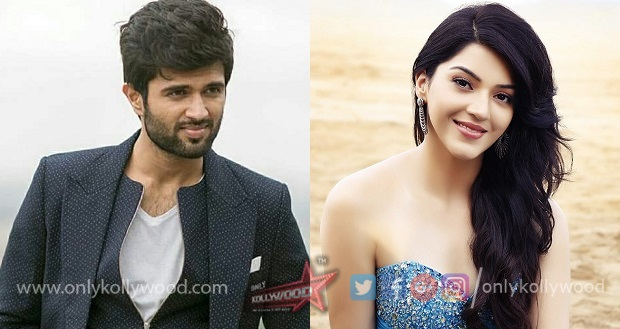 Photo of Vijay Deverakonda to romance Mehreen Pirzada in Anand Shankar film