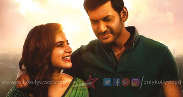irumbu thirai vishal samantha new still