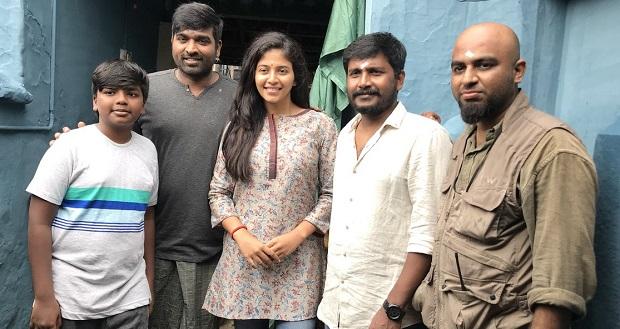 Photo of Anjali starts shooting Vijay Sethupathi – Arun Kumar film