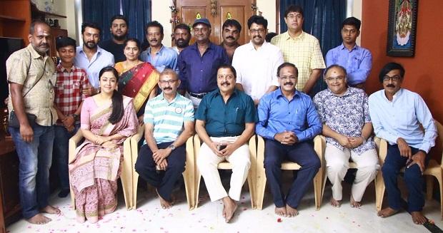 Jyotika's Kaatrin Mozhi starts rolling in Chennai