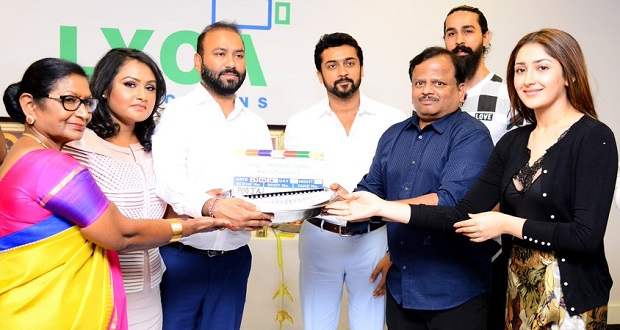 Photo of Makers of Suriya 37 conduct pooja in London