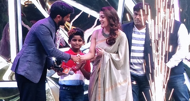 "Photo of ""Nayanthara is ageing backwards,"" Dulquer Salmaan at Vijay Awards"