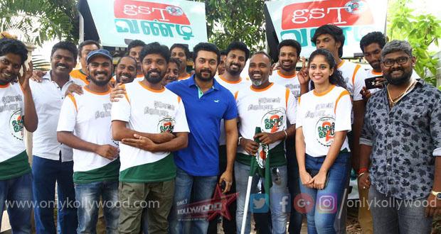 Photo of Suriya launches GST Vandi for Vijay Milton's Goli Soda 2