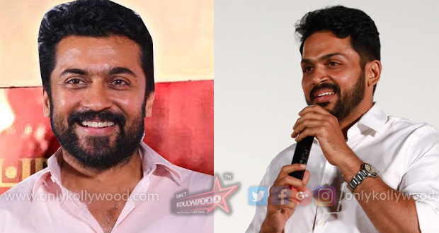 suriya karthi kadaikutty singam audio launch