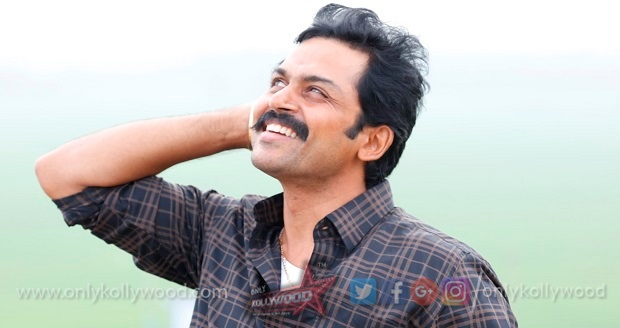 Photo of Desperately came back from the USA for family and relatives, says Karthi on Kadaikutty Singam