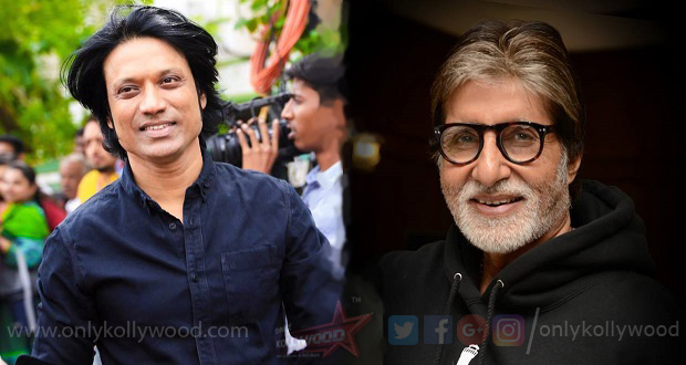 Photo of Amitabh Bachchan to join the sets of Uyarndha Manithan in March