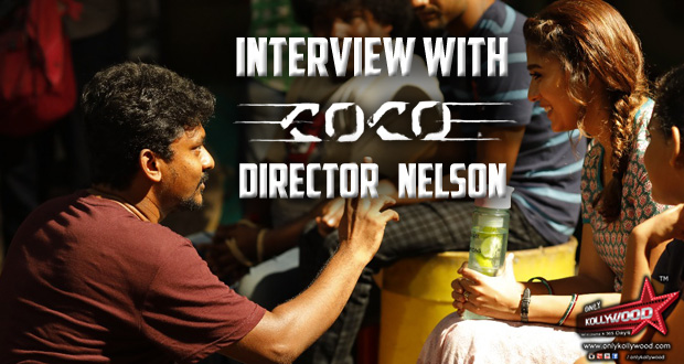 Photo of Interview with Kolamaavu Kokila Director, Nelson Dilipkumar