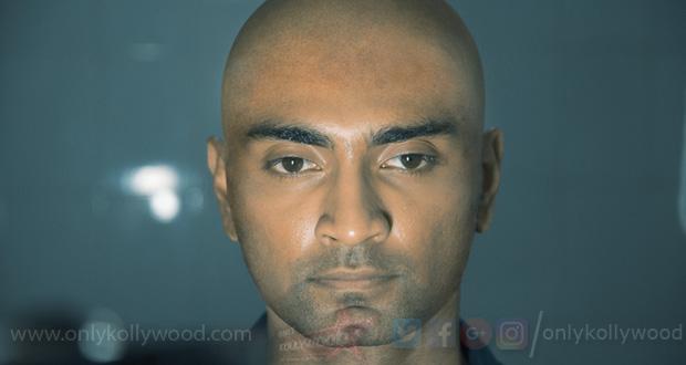 Photo of Atharvaa tonsures head for director Kannan's Boomerang