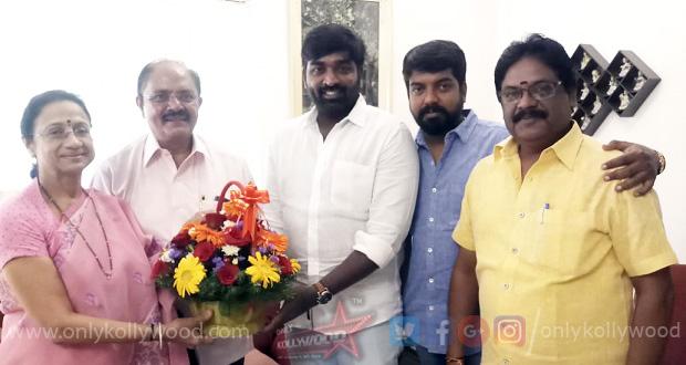 Photo of Vijay Sethupathi signs his next with director Vijay Chander