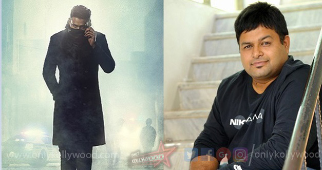 Photo of Thaman brought on board Prabhas' Saaho