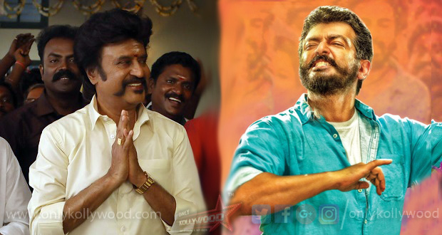 Photo of Thala Ajith's Viswasam outperforms Superstar Rajinikanth's Petta in TN on day one
