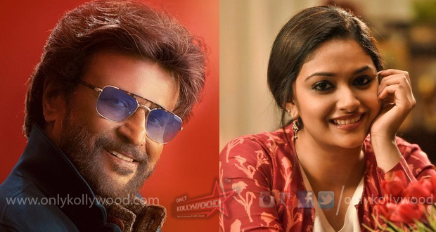 Keerthy Suresh in talks for Rajinikanth - AR Murugadoss film