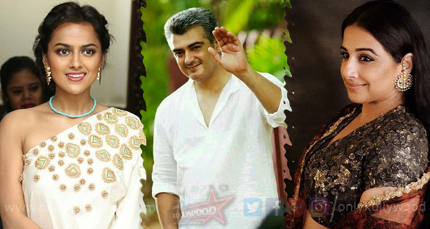 Photo of Thala 59: Vidya Balan and Shraddha Srinath confirmed to star with Ajith