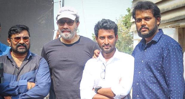 Photo of Sathyaraj starts shooting for Theerpugal Virkkapadum