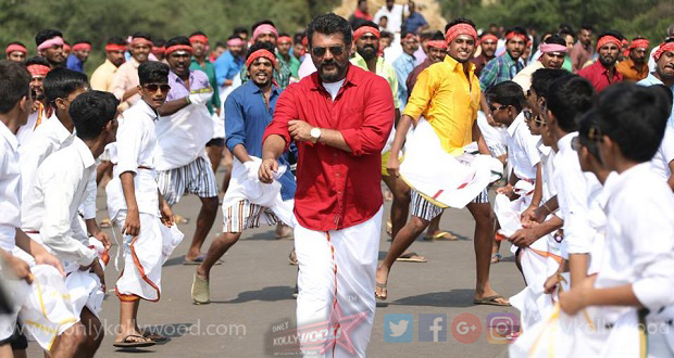 Photo of Telugu and Kannada dubbed versions of Viswasam in process