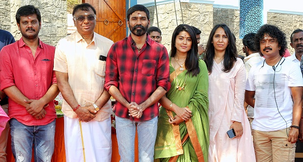 Dhanush and Sneha portions to be shot first in Courtallam