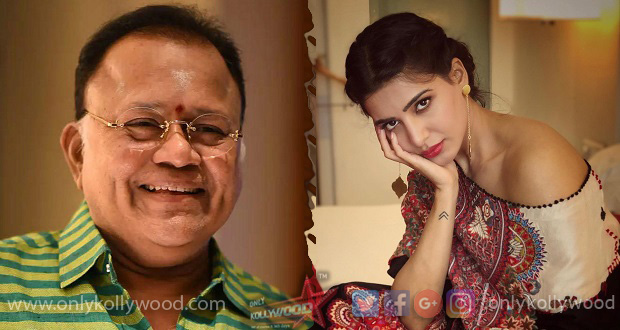Photo of Have some popcorn and take a chill pill: Samantha to Radharavi