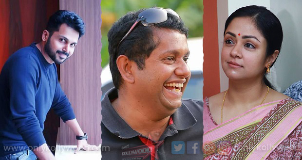 Photo of Jeethu Joseph's film with Karthi and Jyotika wrapped up