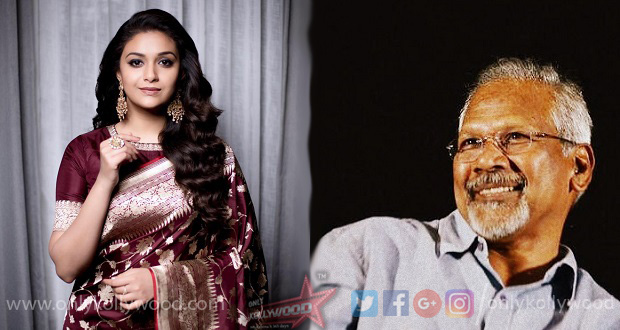 Photo of Keerthy Suresh reportedly in talks for Mani Ratnam's Ponniyin Selvan